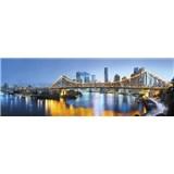 Vliesové fototapety Brisbane rozměr 368 cm x 124 cm