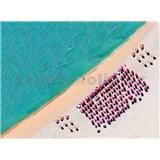 Vliesové fototapety jižní pláž rozměr 248 cm x 184 cm