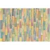 Vliesové fototapety dřevěné barevné obložení rozměr 368 cm x 248 cm