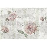 Vliesové fototapety růže rozměr 368 cm x 248 cm