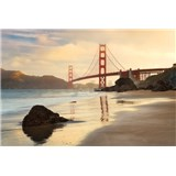 Vliesové fototapety Golden Gate rozměr 368 cm x 248 cm