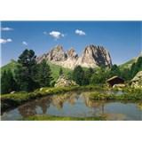Fototapety Dolomity rozměr 388 cm x 270 cm