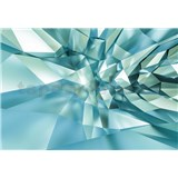 Papírové fototapety 3D Crystal Cave 368 cm x 254 cm