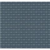 Vliesové tapety na zeď G. M. Kretschmer kachličky šedo-modré - POSLEDNÍ KUS