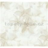 Vliesové tapety na zeď G. M. Kretschmer květy světle hnědé