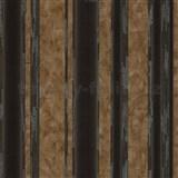 Vliesové tapety na zeď G. M. Kretschmer II pruhy černo-hnědé