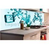 Samolepící tapety za kuchyňskou linku kostky ledu rozměr 180 cm x 60 cm