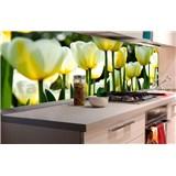 Samolepící tapety za kuchyňskou linku tulipány rozměr 180 cm x 60 cm