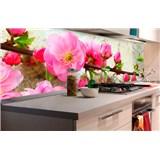 Samolepící tapety za kuchyňskou linku sakura rozměr 180 cm x 60 cm