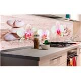 Samolepící tapety za kuchyňskou linku ZEN květiny rozměr 180 cm x 60 cm