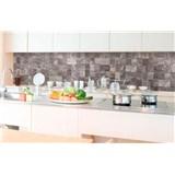 Samolepící tapety za kuchyňskou linku dlaždice rozměr 350 cm x 60 cm