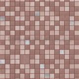 Omyvatelné vinylové tapety na zeď Bravo 3D mozaika hnědo-stříbrná