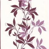 Tapety Lacantara 3 - stonky list� �erven� s t�pytem