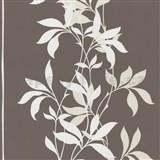 Tapety Lacantara 3 - stonky list� b�l� s t�pytem - SLEVA