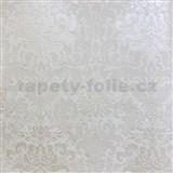 Vliesové tapety na zeď La Veneziana 3 zámecký vzor damašek bílý