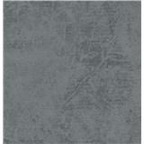 Vliesové tapety na zeď La Veneziana 3 strukturovaná šedo-modrá