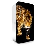 Samolepící tapety na lednici panther rozměr 120 cm x 65 cm