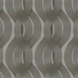 Luxusní vliesové tapety na zeď Colani Legend proplétané vlny hnědé