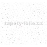 Dětské vliesové tapety na zeď Little Stars balónky růžovo-modré