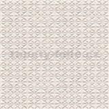 Vliesové tapety na zeď LIVIO hvězdicový vzor světle hnědý