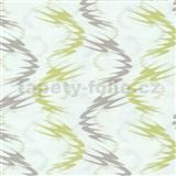 Tapety na ze� Lofty - vlnovky zelen�