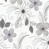 Tapety na ze� Lofty - kv�ty fialov�