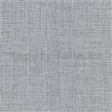 Vliesové tapety na zeď IMPOL Luna textilní struktura černo-šedá