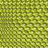 Vliesové tapety na zeď Harmony Mac Stopa moderní 3D vzor zelený