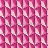 Vliesové tapety na zeď Harmony Mac Stopa 3D vzor růžový