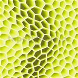 Vliesové tapety na zeď Harmony Mac Stopa 3D plástve zelené
