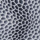 Vliesové tapety na zeď Harmony Mac Stopa 3D plástve šedo-černá