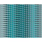 Vliesové tapety na zeď Harmony Mac Stopa 3D abstrakt tyrkysový
