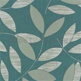 Vliesové tapety na zeď Di Moda listy svěle zelené