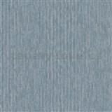 Vliesové tapety na zeď IMPOL Modernista úzké proužky modré s metalickou patinou