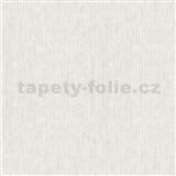 Vliesové tapety na zeď IMPOL Modernista úzké proužky bílé s metalickou patinou