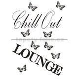 Samolepky na zeď - Chill out Lounge 45 x 65 cm