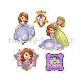 Samolepky na zeď dětské - malá princezna 30 x 40 cm