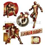 Samolepky na zeď dětské - Iron Man 30 x 40 cm
