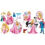 Samolepky na zeď Princezna rozměr 2 x 30 x 40 cm
