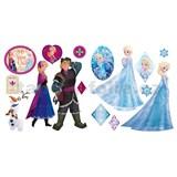 Samolepky na zeď Anna a Elsa Frozen