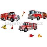 3D samolepky hasičská vozidla, 41 x 29 cm