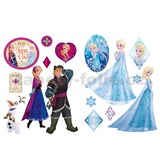 Samolepky na zeď Frozen rozměr 2 x 45 x 65 cm