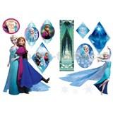 Samolepky na zeď Frozen - Anna & Elsa rozměr 2 x 45 x 65 cm