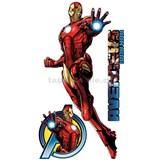 Samolepky Star Iron Man Avengers 90 x 160 cm