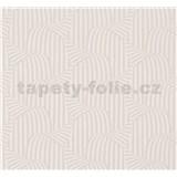 Vliesové tapety na zeď NENA 3D moderní vzor světle hnědý