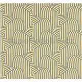 Vliesové tapety na zeď NENA 3D moderní vzor žlutý