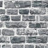 Vliesové tapety na zeď NEUE BUDE 2.0 cihlová stěna šedá