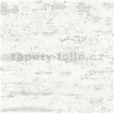 Vliesové tapety IMPOL New Studio moderní stěrka bílo-šedá