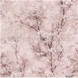 Vliesové tapety IMPOL New Wall florální vzor růžový