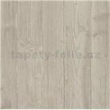 Vliesové tapety na zeď Belinda dřevěný obklad světle hnědý